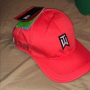 Tiger Woods Nike Gold Hat